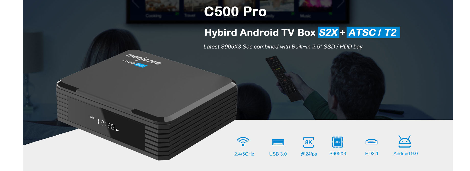 Magicsee android tv box company OEM ODM